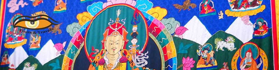 Thangka in a Buddhist Festival in Bumthang