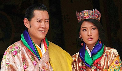 The fifth king of Bhutan, Jigme Khesar Namgyal Wangchuk